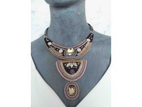 náhrdelník s kamínky