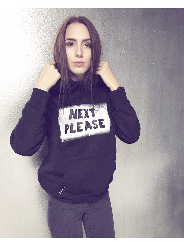 NEXT PLEASE hoodie