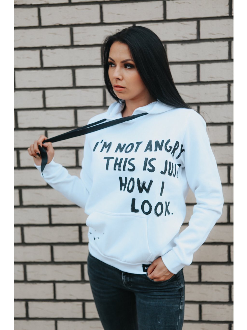 Not angry