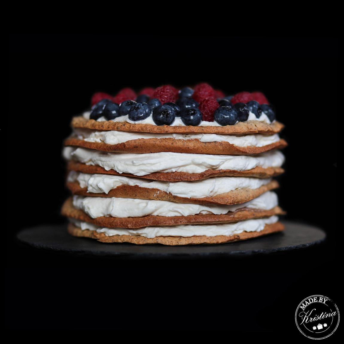 #Oříškový bezlepkový dort