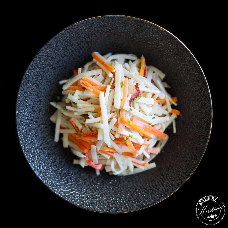 #Celerový salát