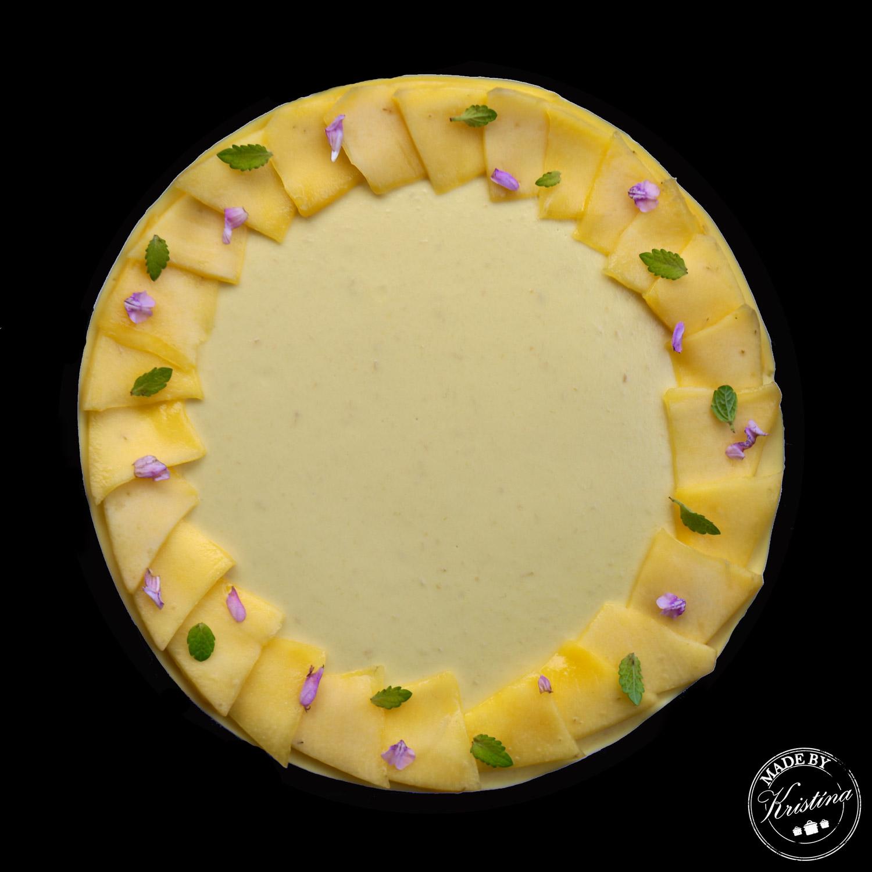 #Mangový dort