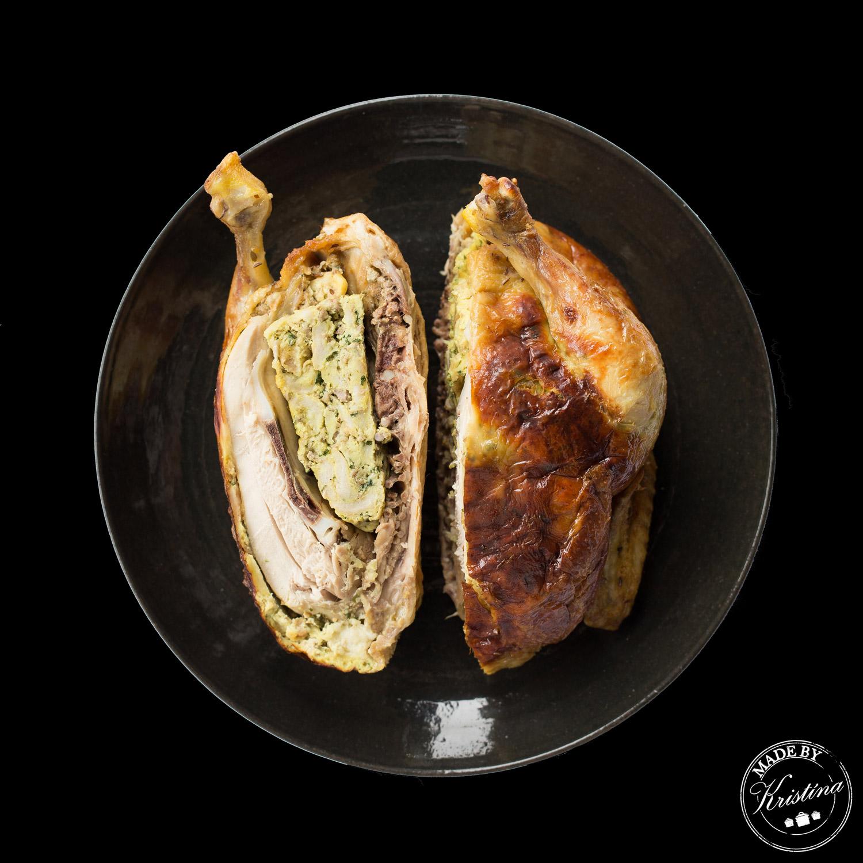 #Kuře s nádivkou nebo Nádivka s kuřetem