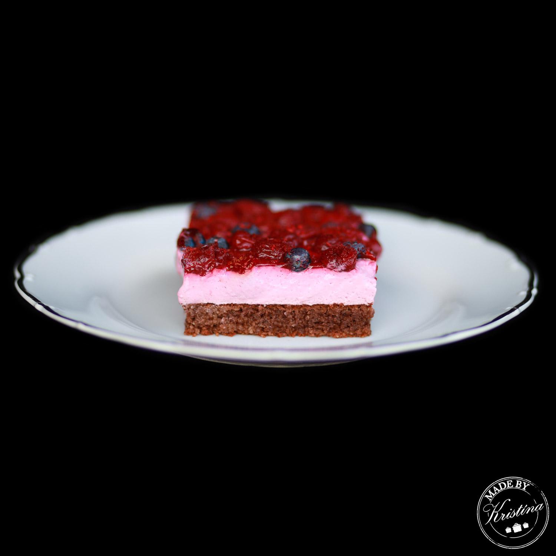 #Višňový bezlepkový koláč