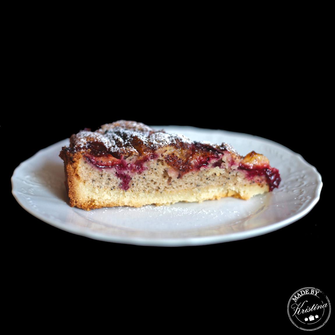 #Švestkovo-makový koláč