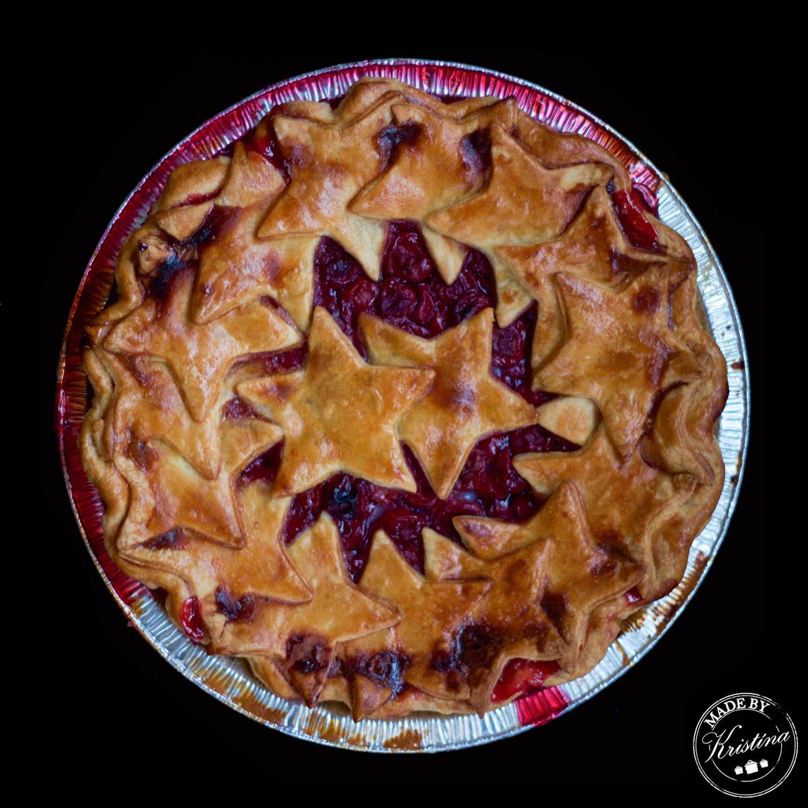 #Pravý americký třešňový pie
