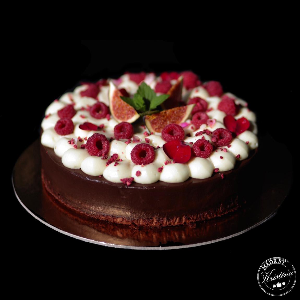 #Veganský čokoládovo-kokosový dort