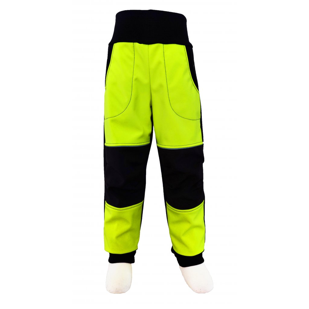kalhoty zluta neon2