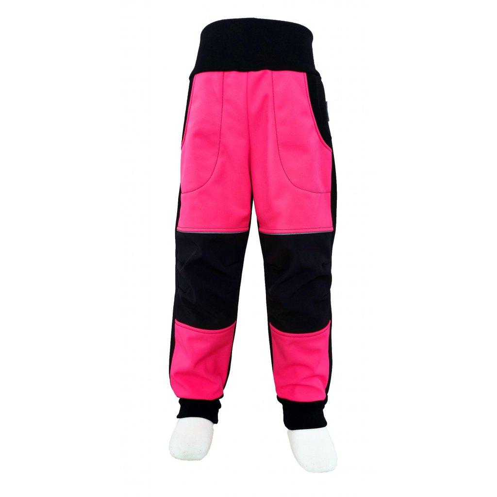 kalhoty cervena neon3