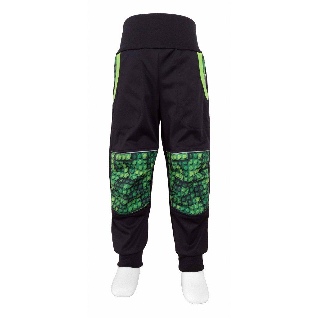 kalhoty lego zelene A3
