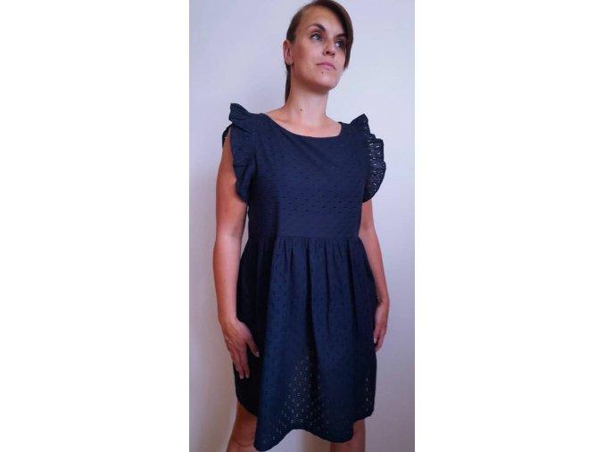 DRESS MADEIRA BLUE