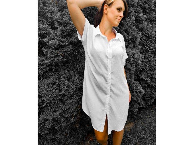 DRESS WHITE STRU