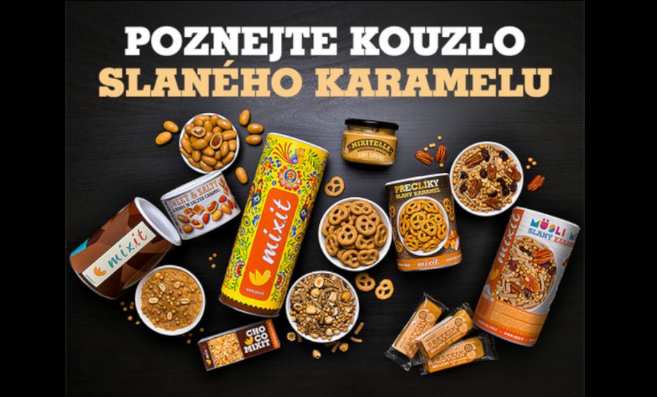 Mixit - Slaný karamel