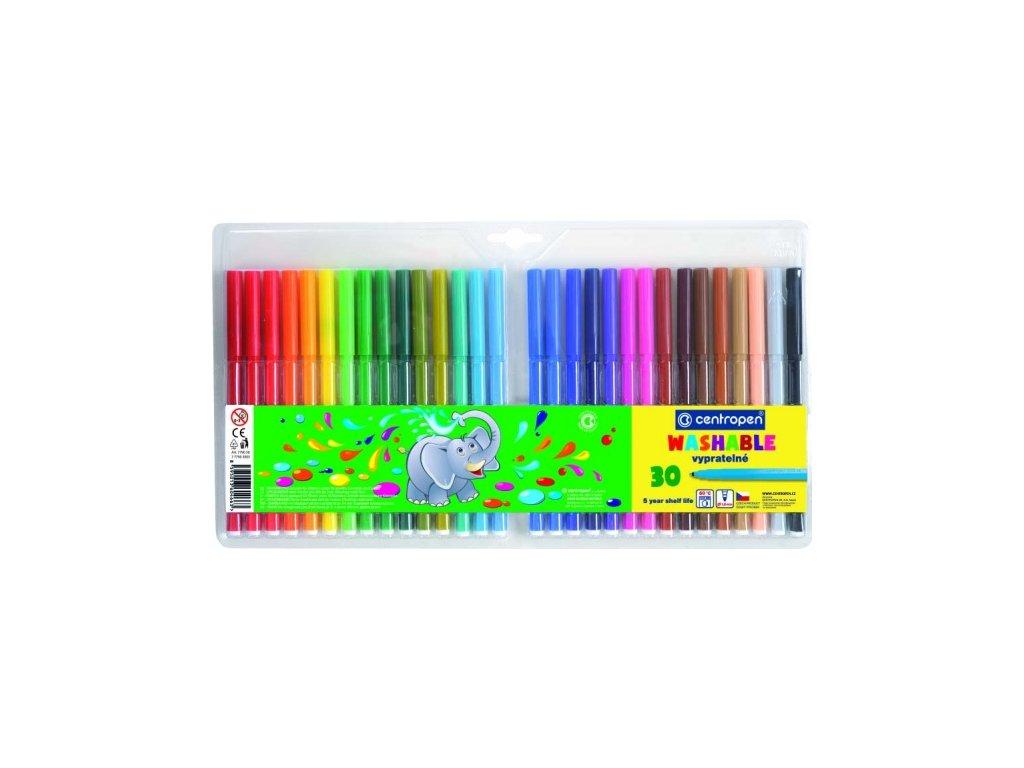 Popisovač fix TP 7790 vypratelné, 1 mm, 30 barev