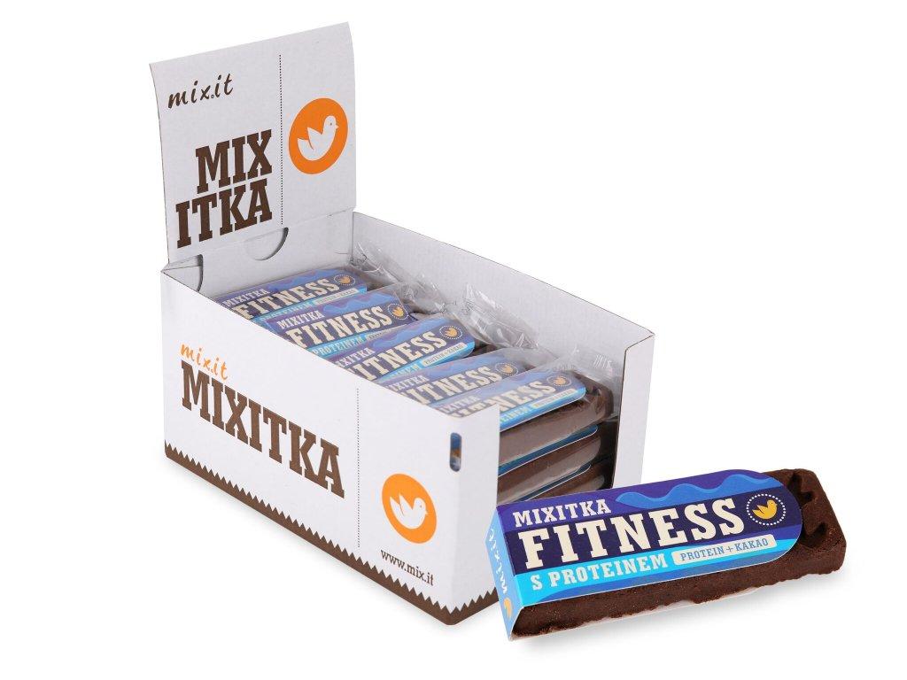 Mixitky BEZ LEPKU - Protein + kakao