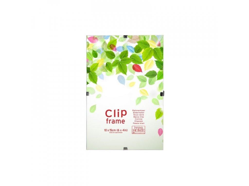 Skleněný clip rámeček 21x29,7 A4