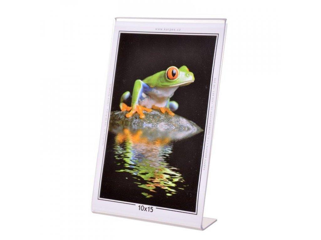 Akrylový fotorámeček 10x15