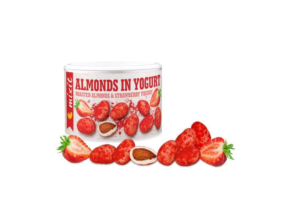 Mandle v jogurtu