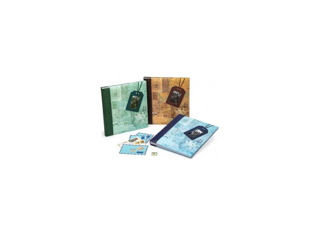 fotoalbum na ruzky 29x32 60s travel 18 modra