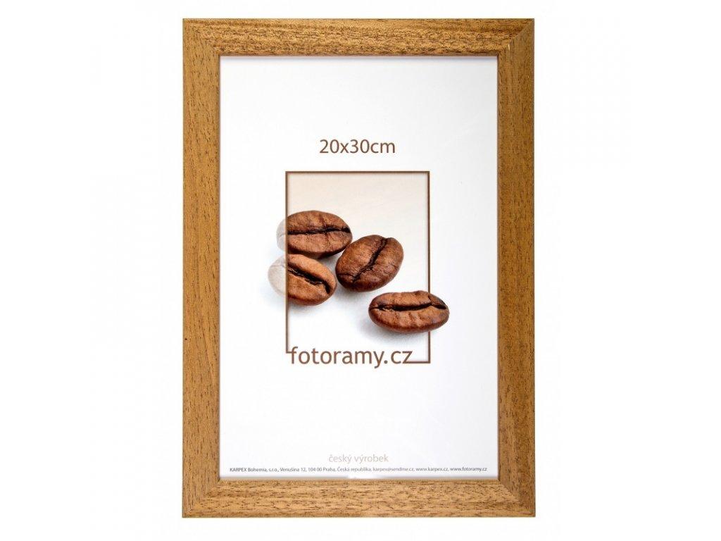 dreveny fotoramecek dr011k 30x45 06 pinie