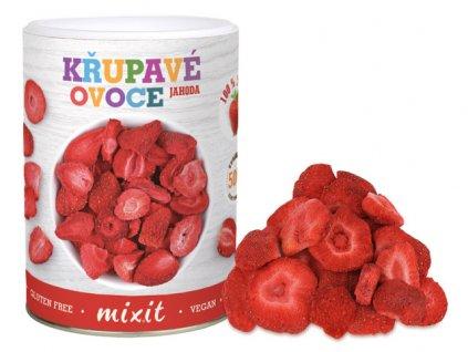 jahoda krupave ovoce nový tubus