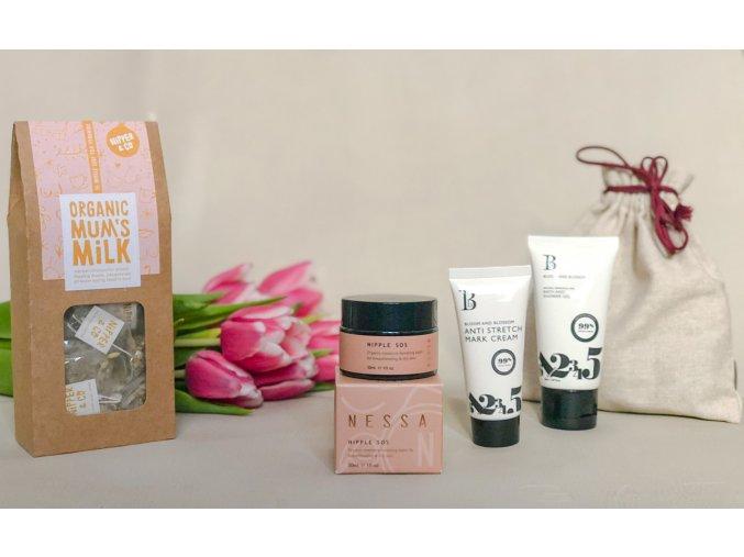 #musthave balíček do porodnice s Balzámem na bradavky a kojícím čajem
