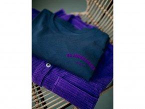 Tajinebanane (Kojicí) Tričko La p'allaite. Modré