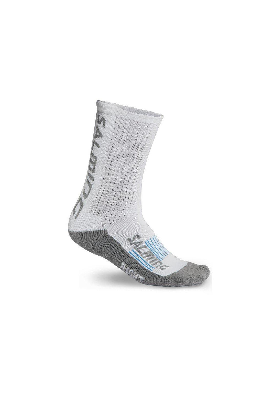 salming advanced indoor sock white 46 49