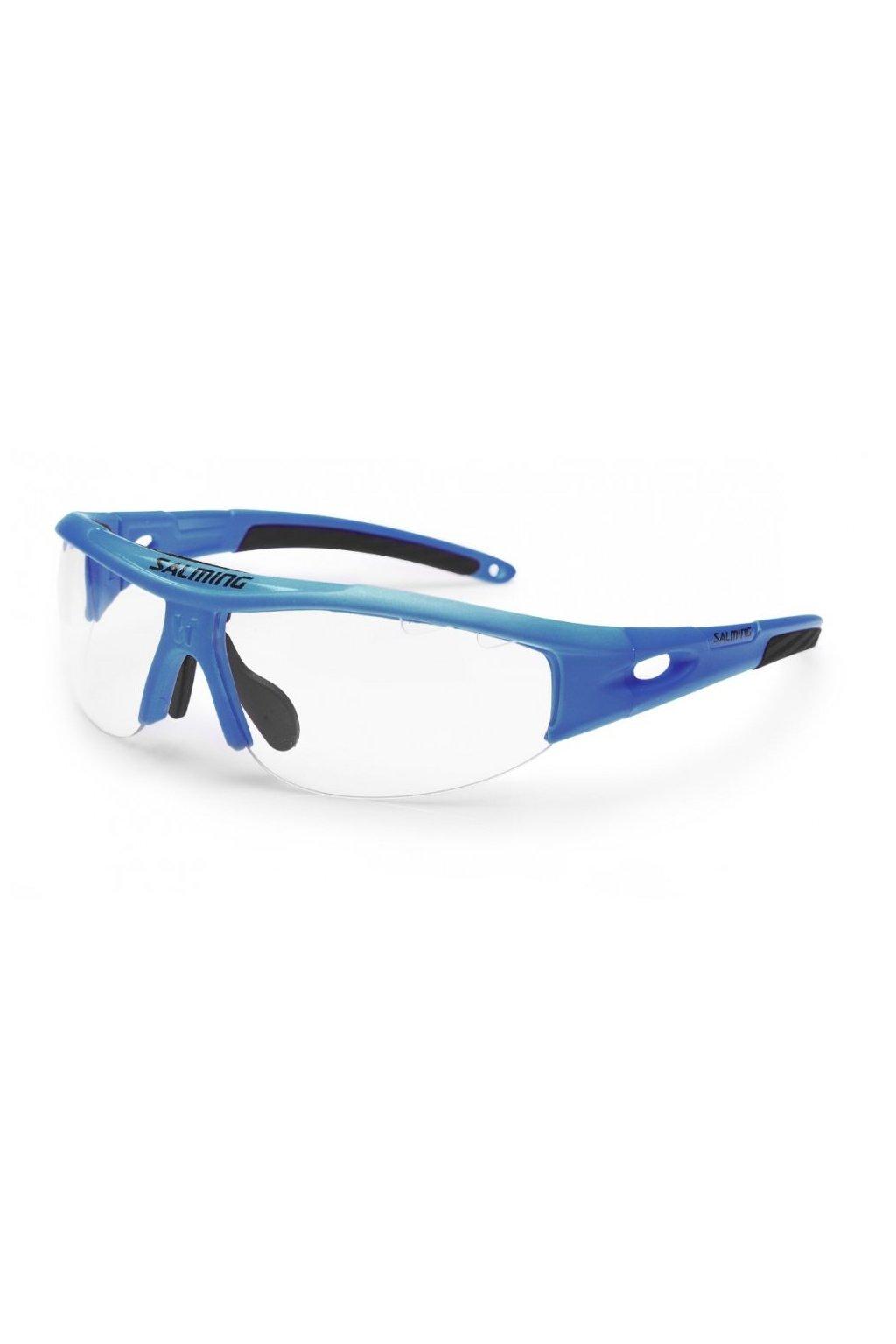salming v1 protec eyewear jr royal blue