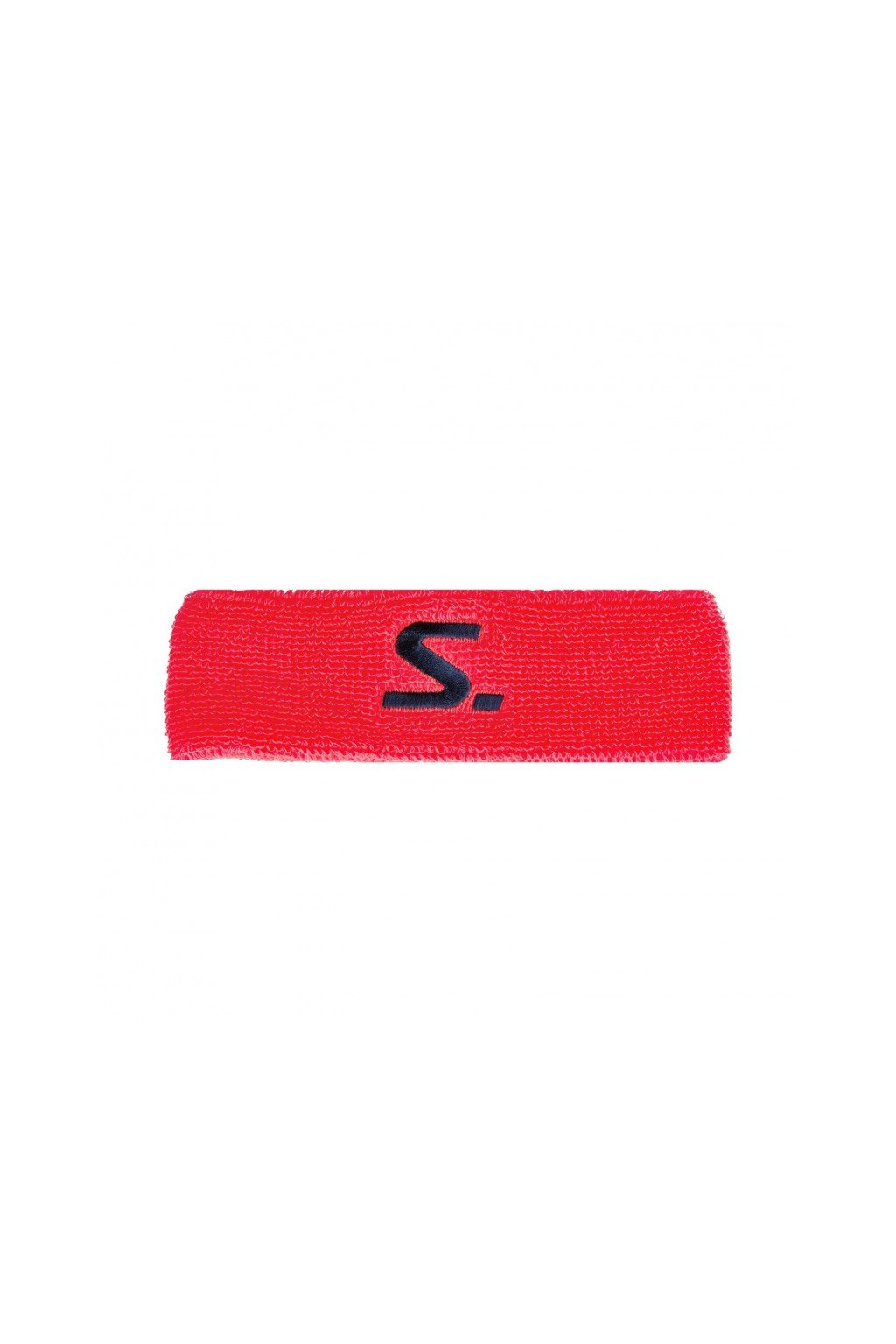 salming knitted headband coral navy (1)