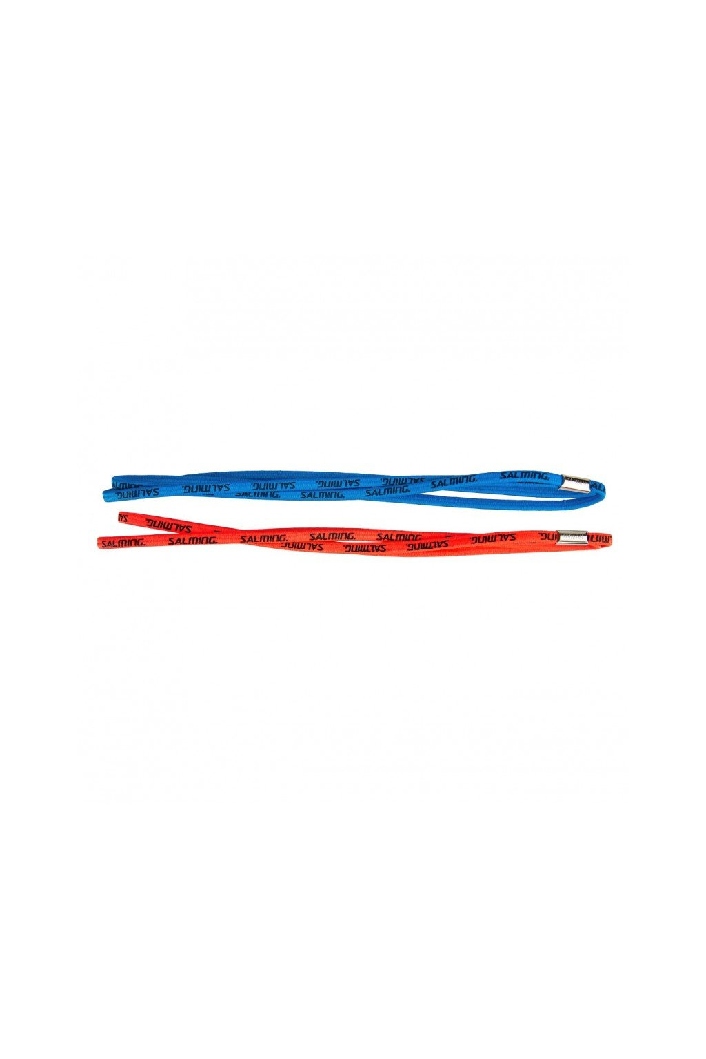salming twin hairband 2 pack coral navy