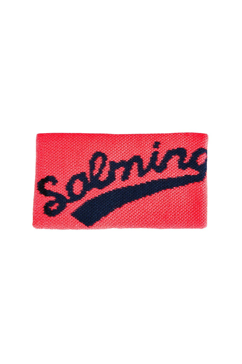salming wristband long coral navy