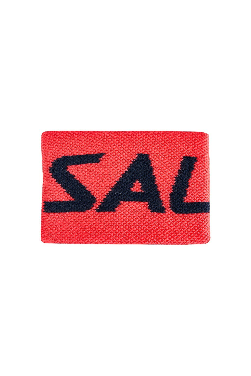 salming wristband mid coral navy