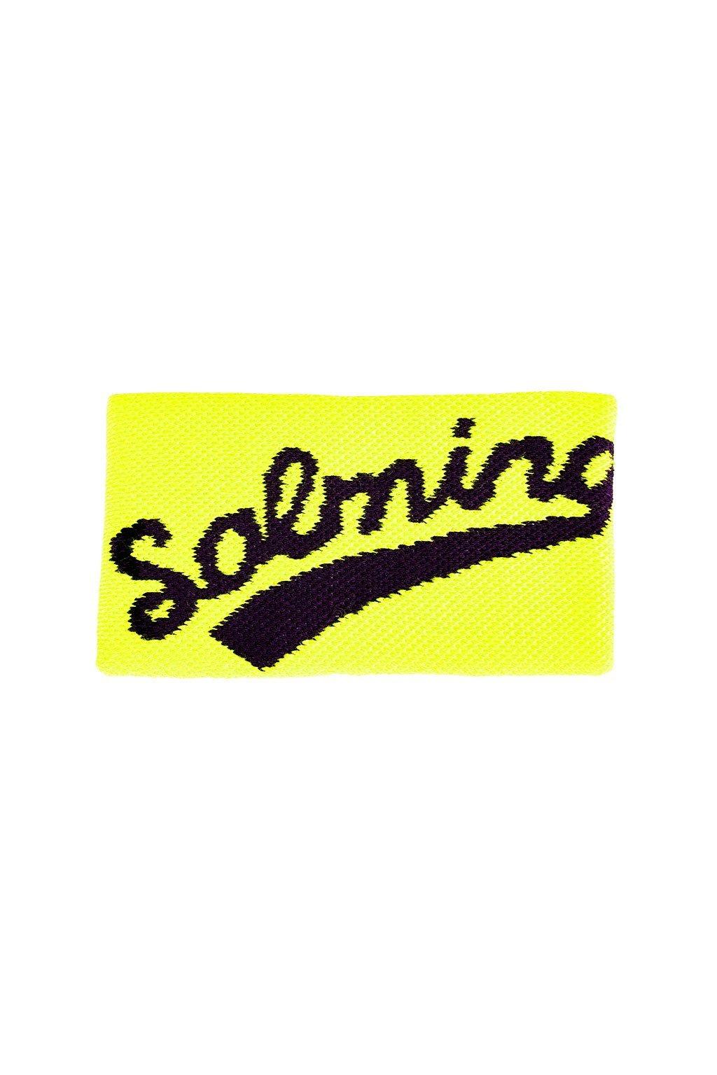 salming wristband long yellow black