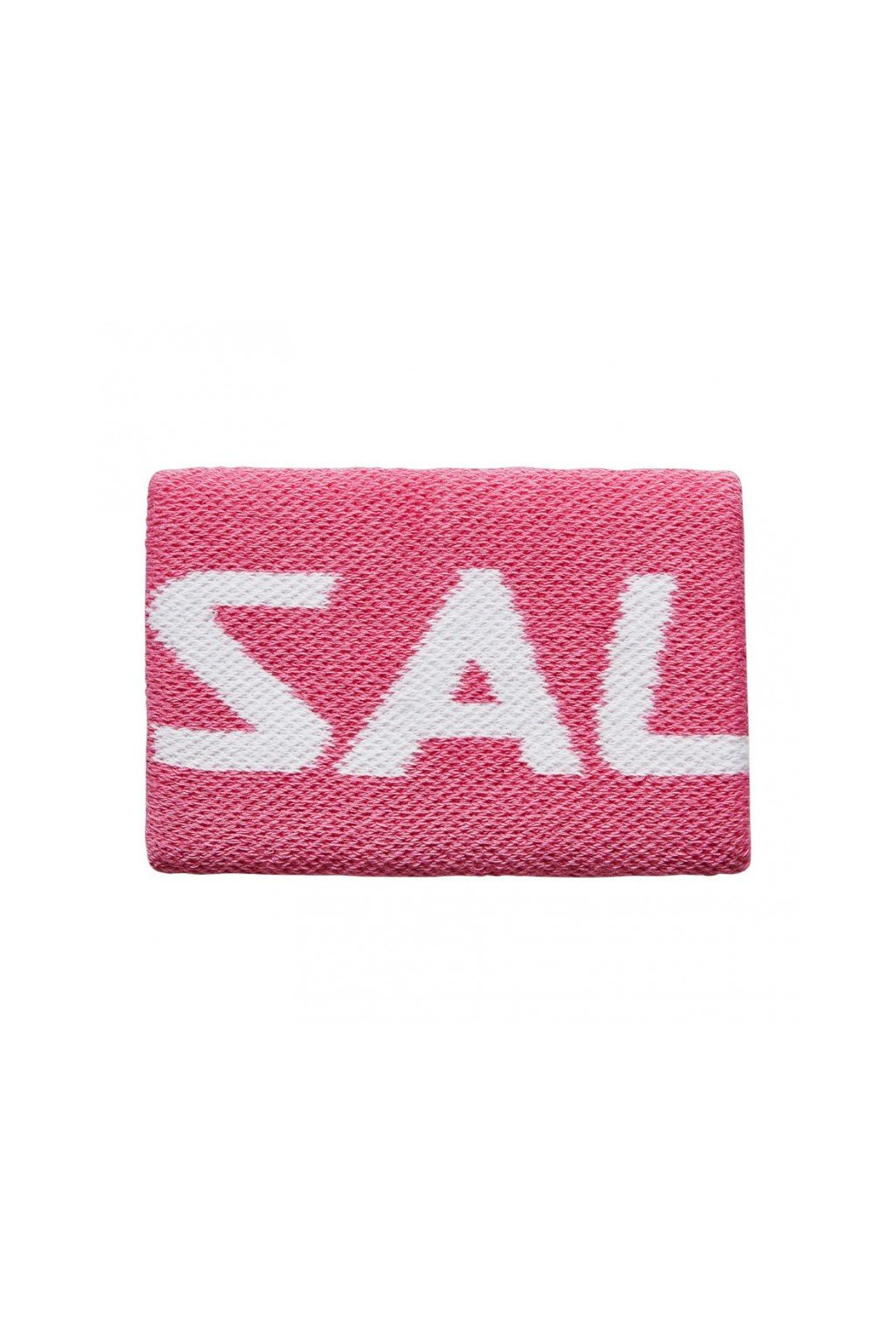 salming wristband mid pink white