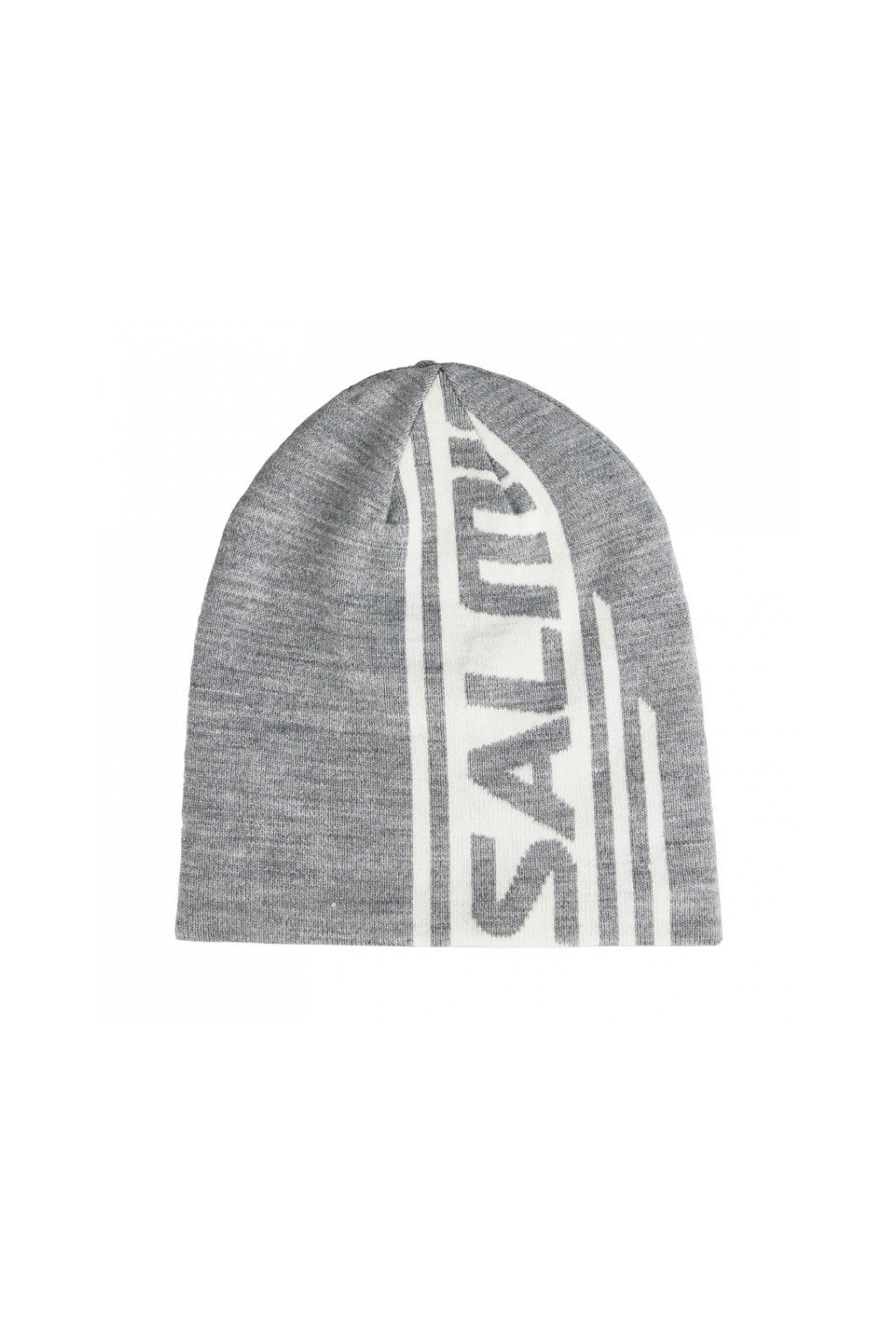 salming logo beanie 20 grey melange
