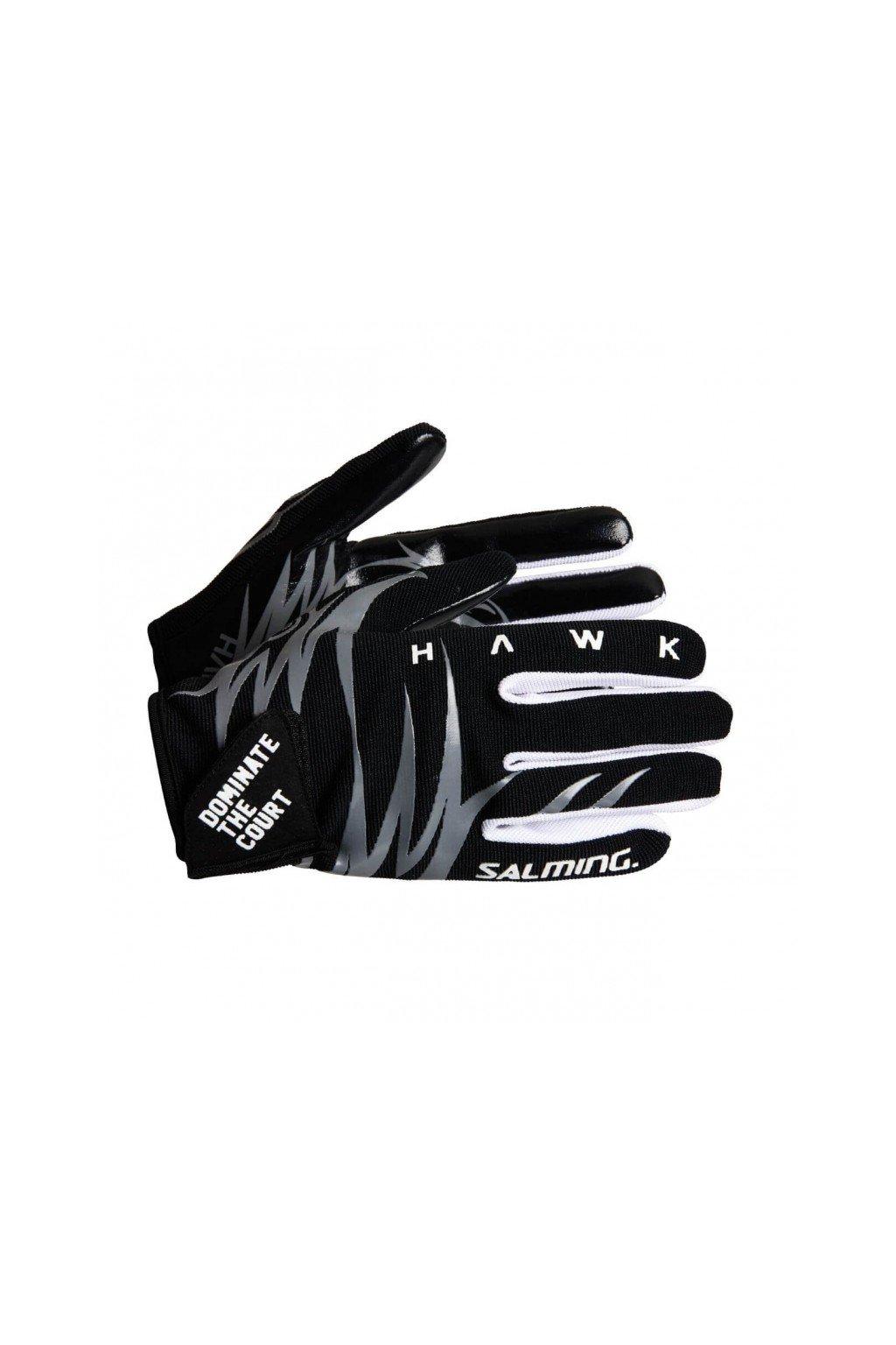 SALMING Hawk Goalie Gloves Black/Grey
