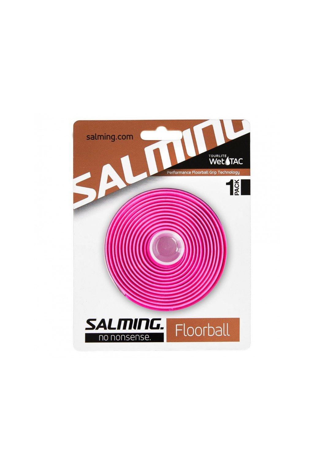 salming tourlite wettac grip pink