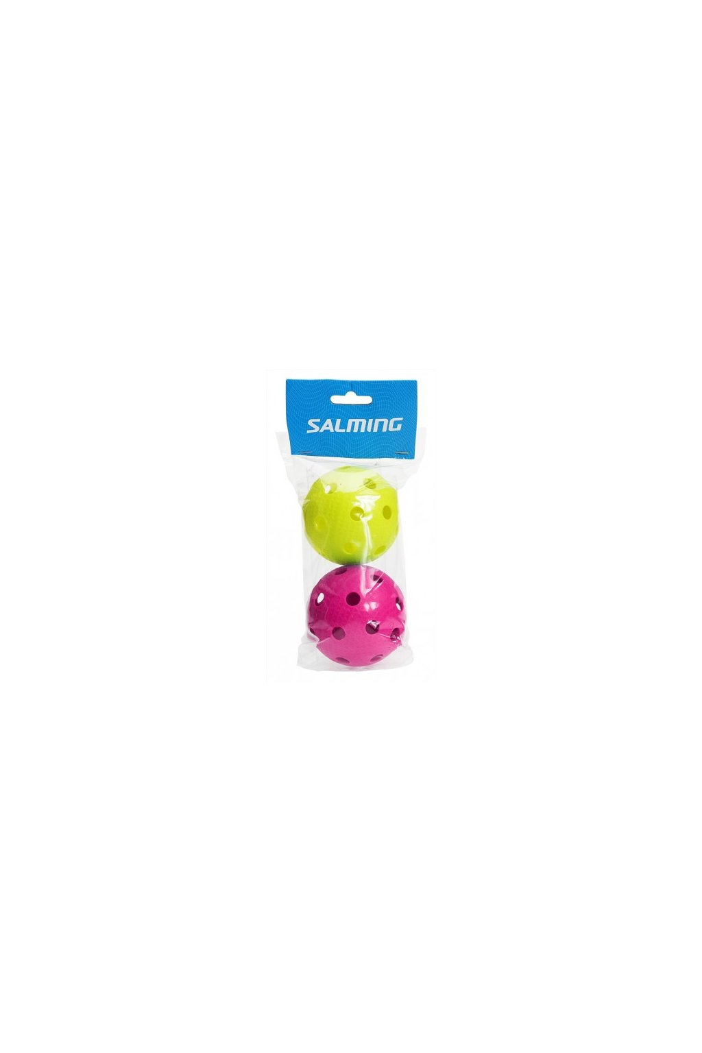 salming floorball 2 pack magenta green