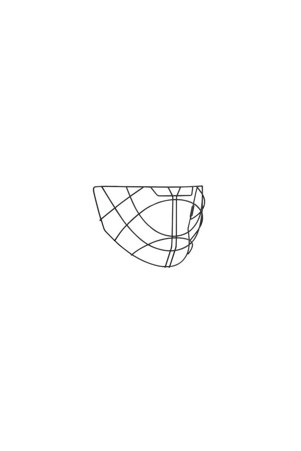 salming facial wire elite helmet black