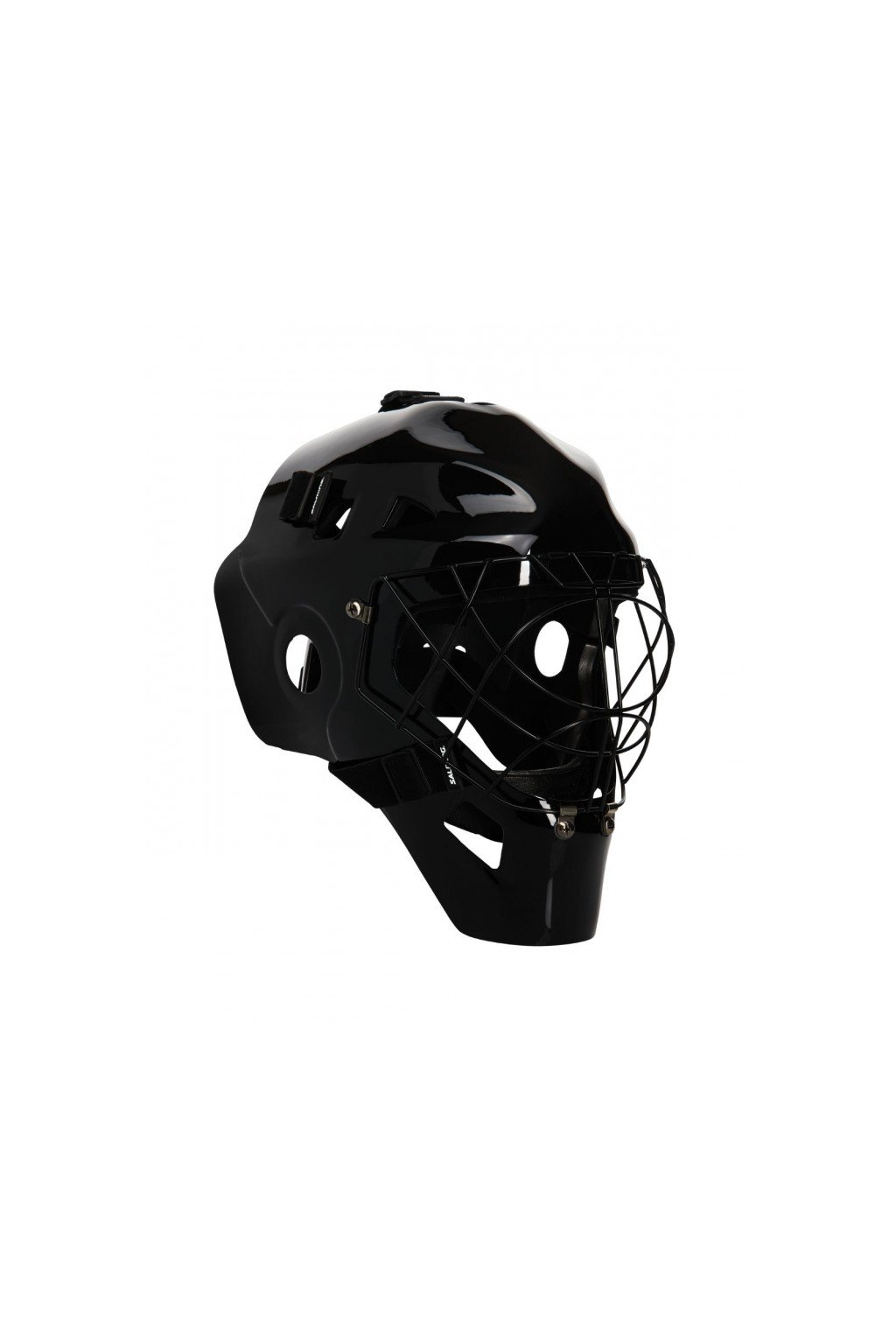 salming carbonx custom helmet black