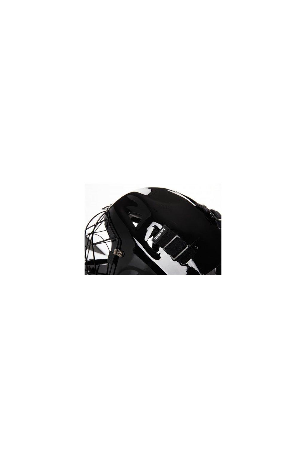 salming carbonx helmet strapsbuckles black