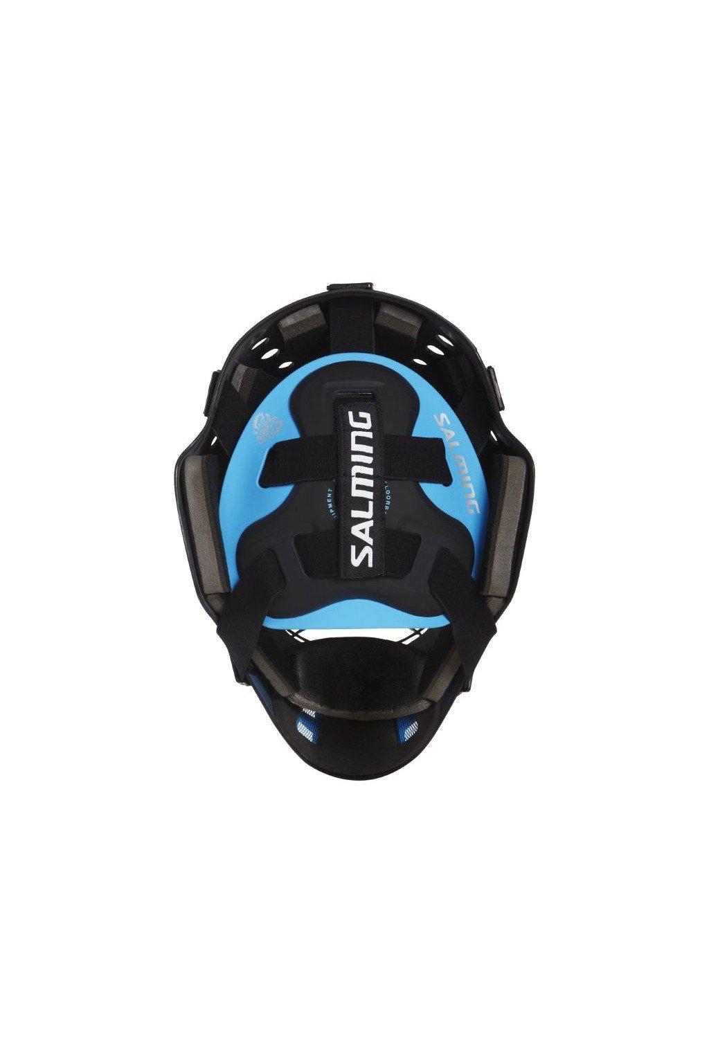 salming elite helmet strapsbuckles black