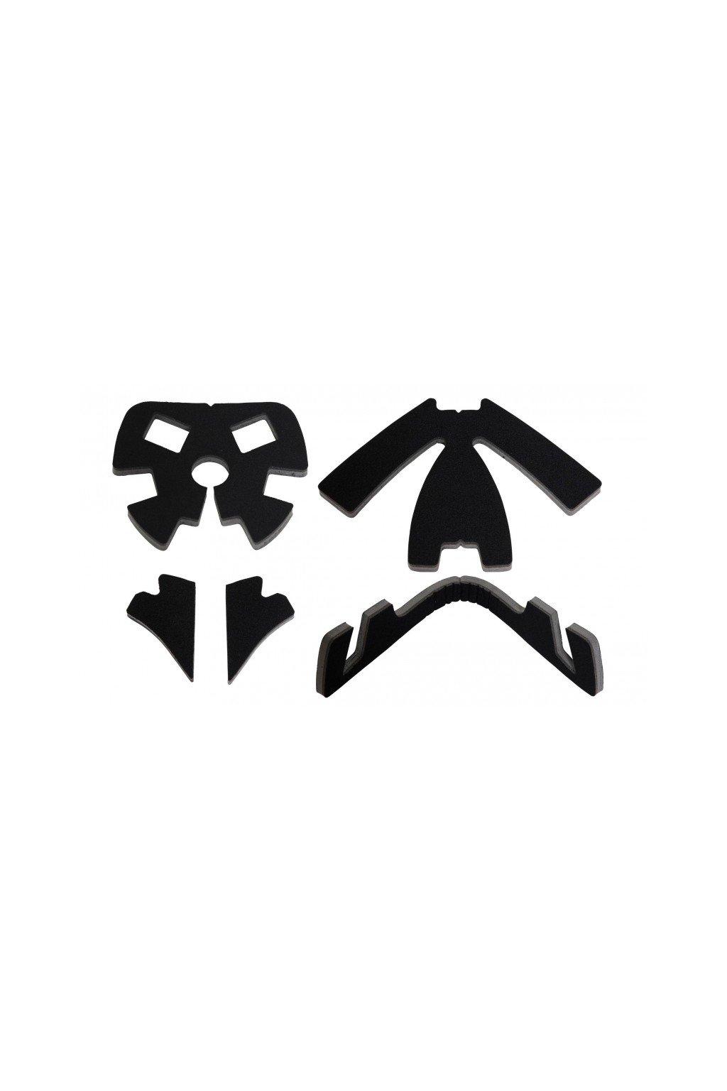 salming elite helmet interior padding black