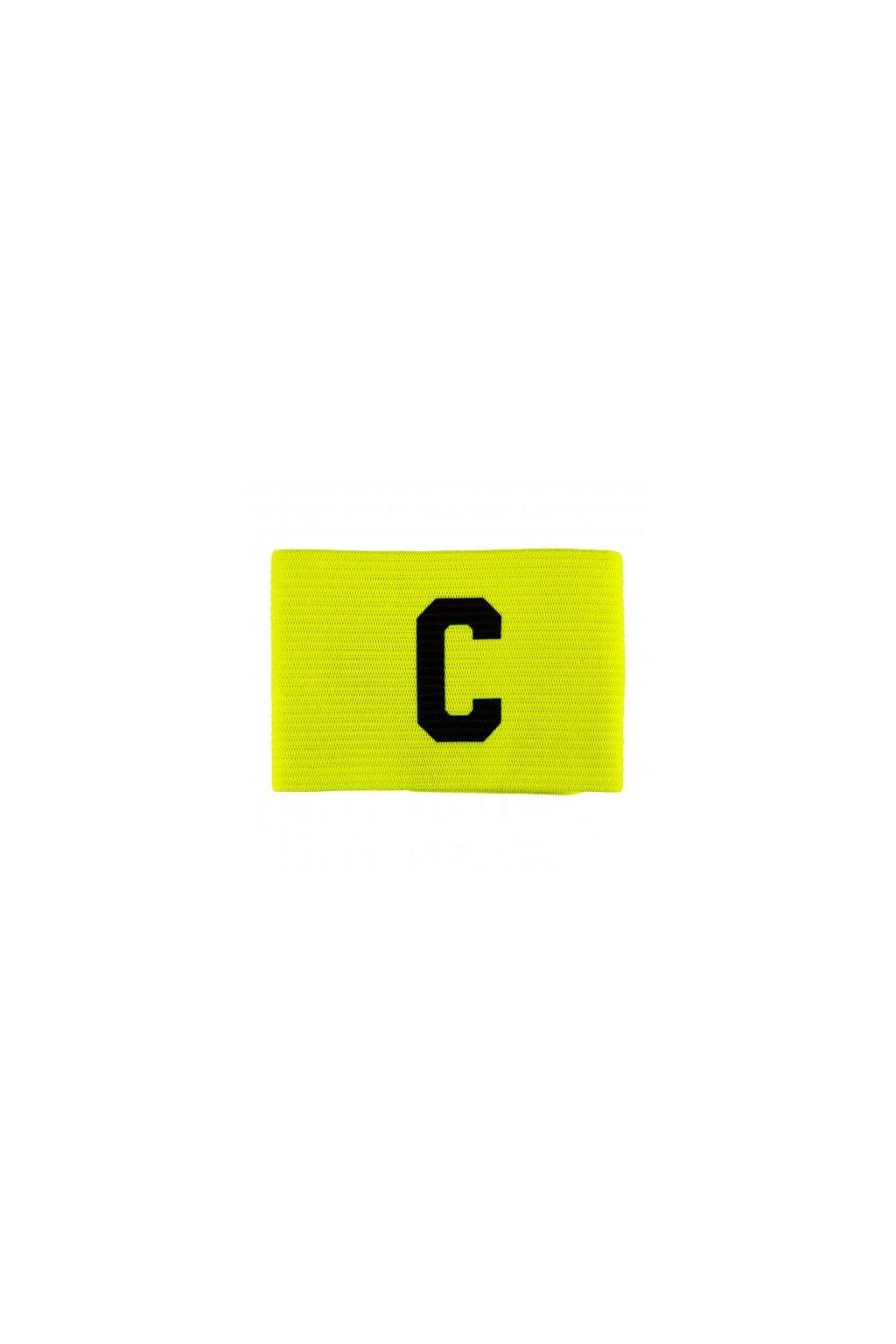 salming team captain armband fluo yellow