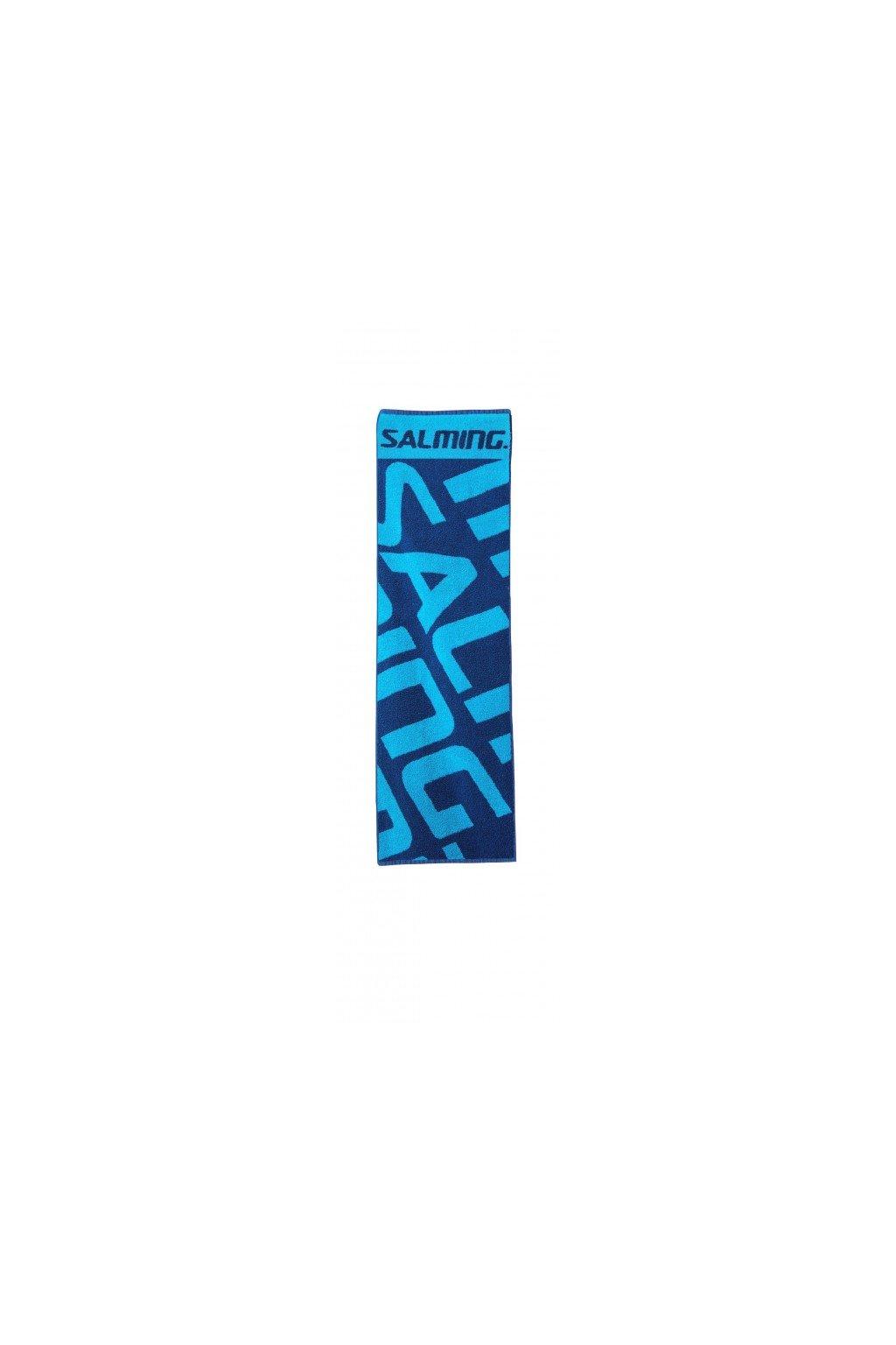 salming gym towel navy blue