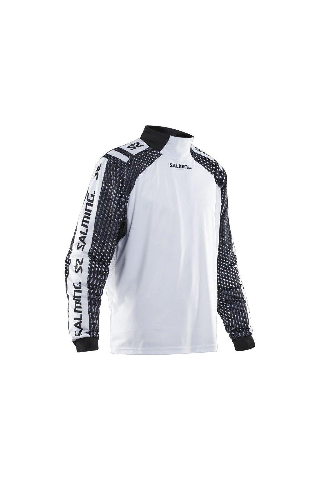 salming atilla jersey sr white black l
