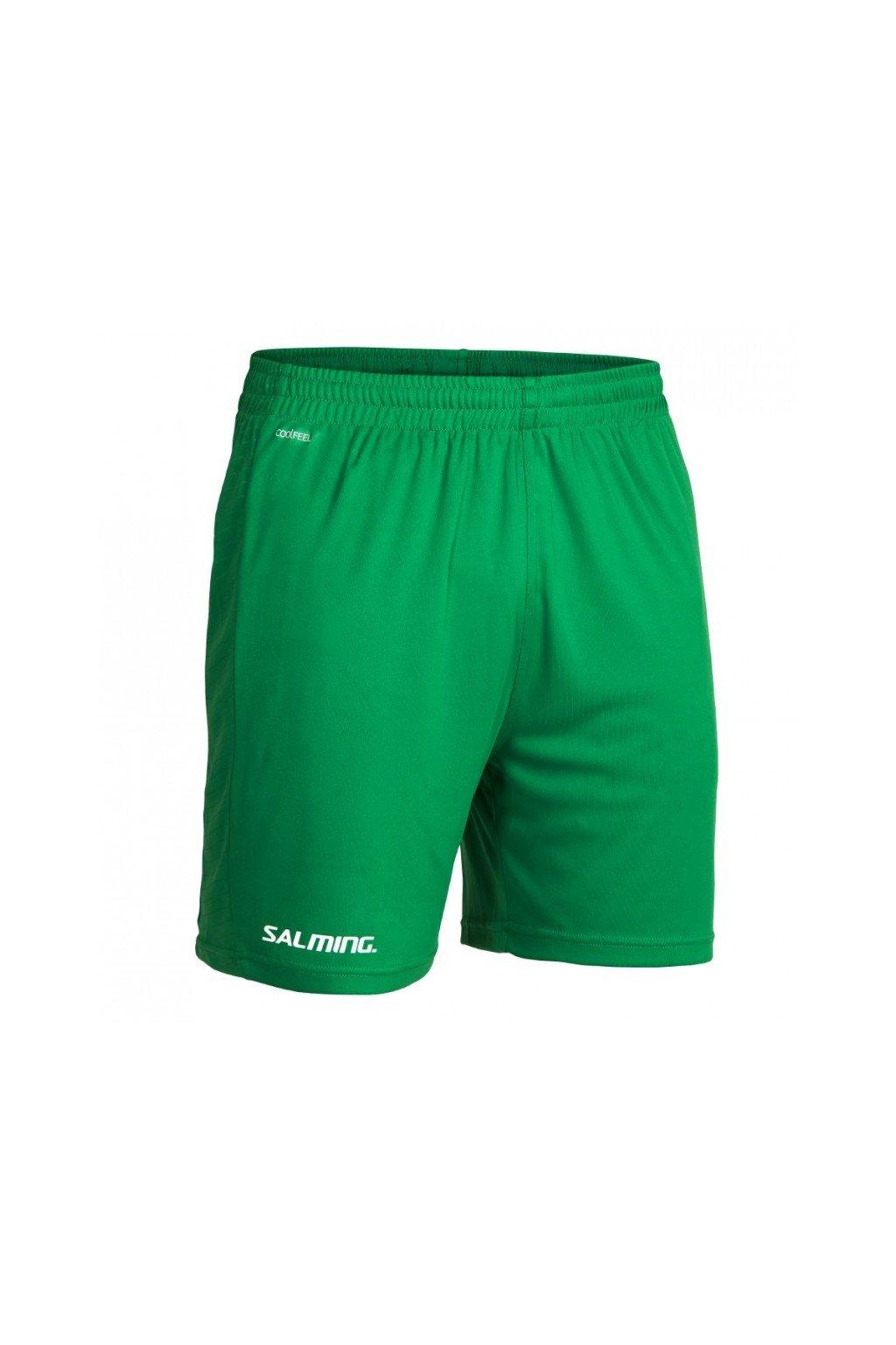 salming granite game shorts men green xxxl