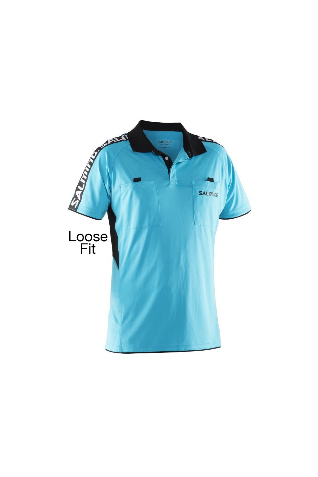 salming referee polo loose fit