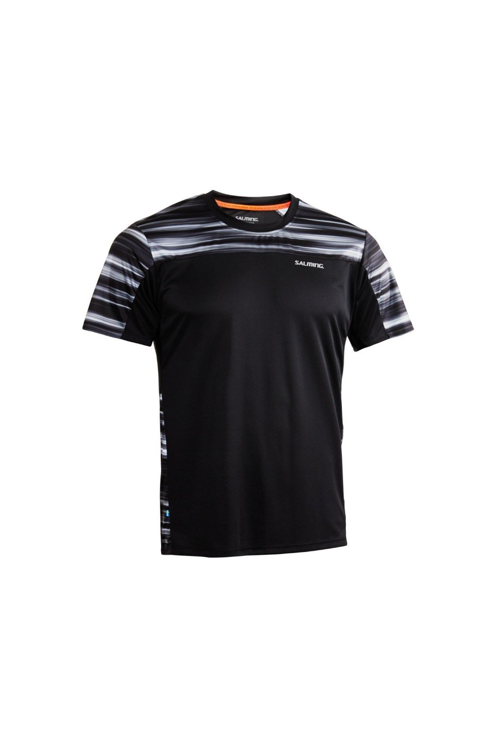 salming motion tee men black xxl